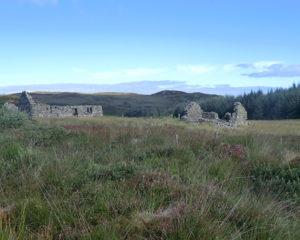 Wild moorland walking