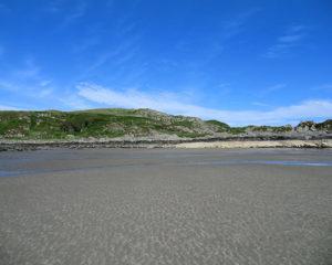 Beautiful beaches on mull