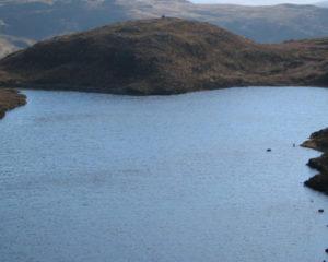 Crater Loch North of Mull Walk