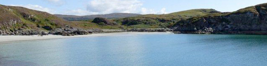 Beautiful beaches on mull