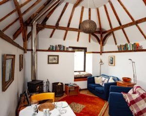 Inside Bothy Holiday Cottage, Mull