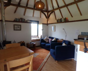 Bothy holiday cottage living room