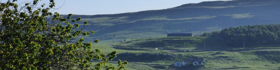 Walking on the Isle of Mull